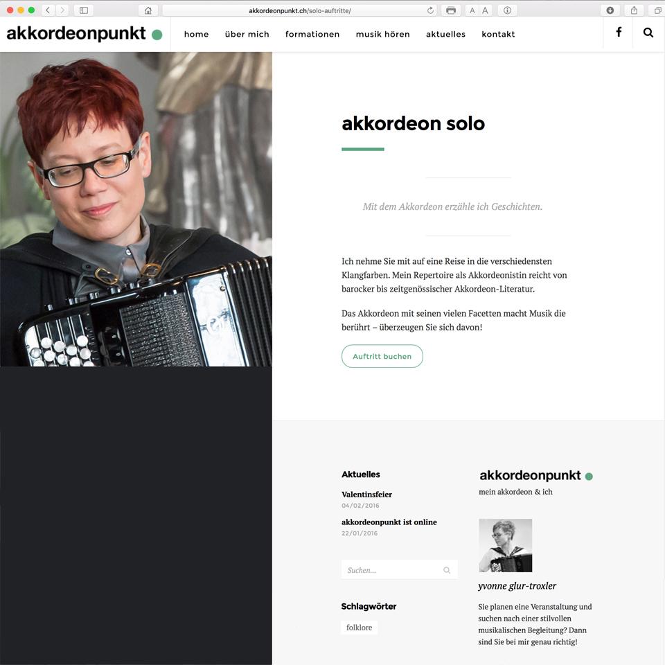 Neue Website www.akkordeonpunkt.ch